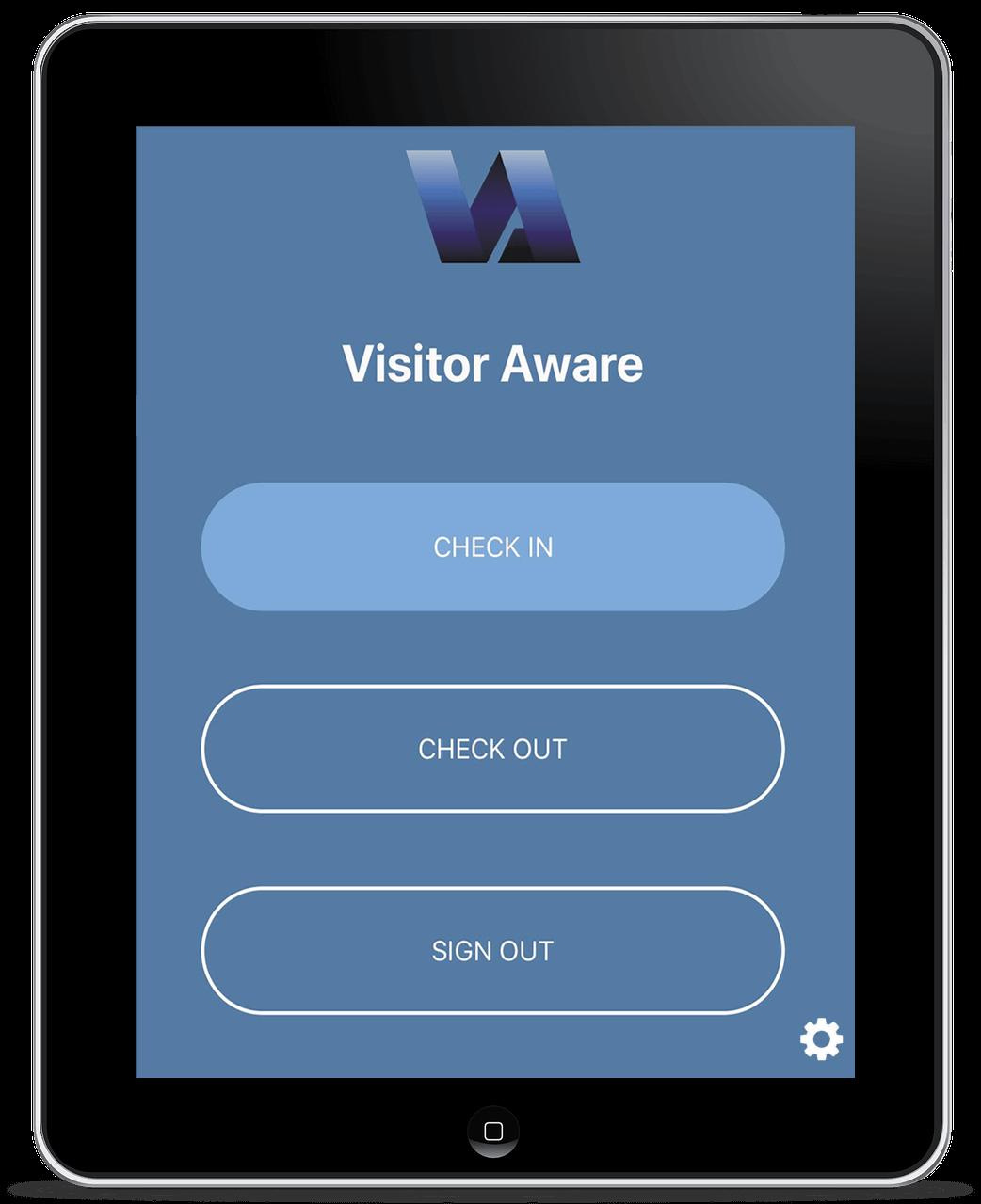 Visitor Aware Check in Kiosk Step Image